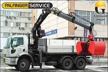 ford cargo с манипулятором HIAB